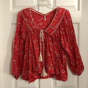 Free People Peasant Daisy top
